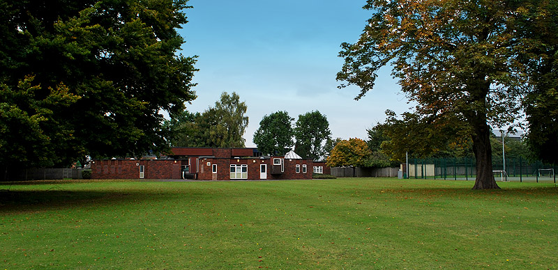 picture of St Mary's Hampton school building