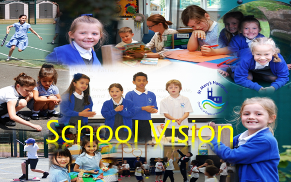 picture of St Mary's Hampton school children